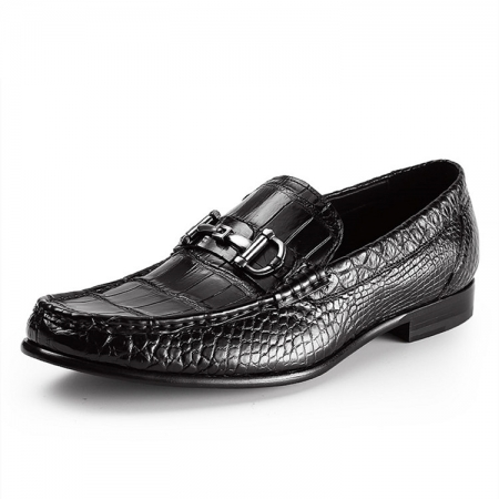 Mens Alligator Slip-On Loafer