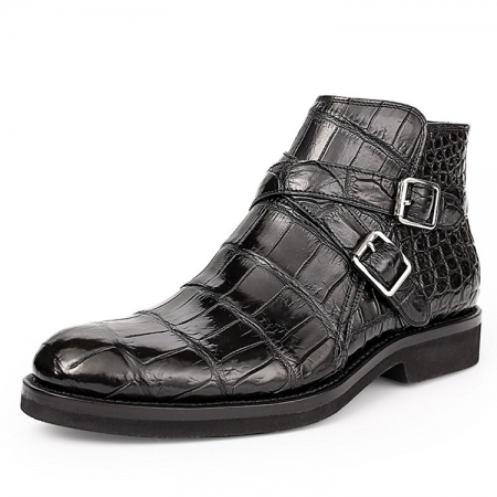 Casual Alligator Boots