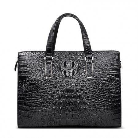 Casual Genuine Crocodile Bag,Crocodile Laptop Bag for Men
