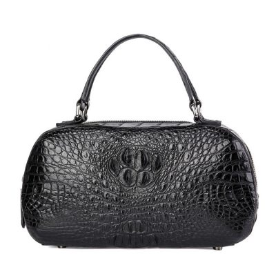 Classic Crocodile Top-Handle Handbag, Crocodile Evening Bag