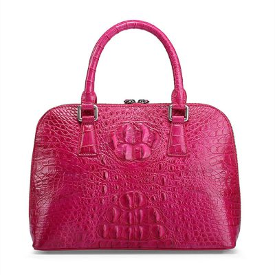 Classic Genuine Crocodile Handbag, Shoulder Handbag for Women