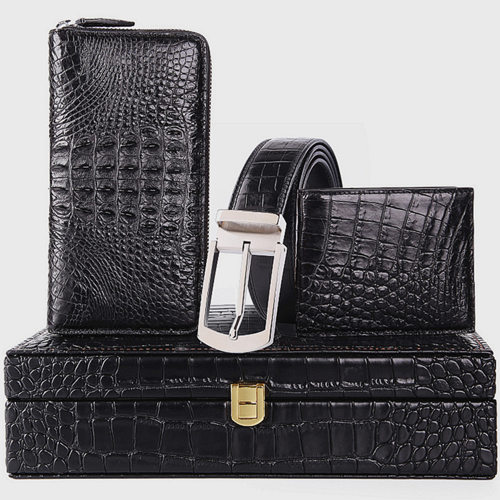 Crocodile and Alligator Leather Accessories