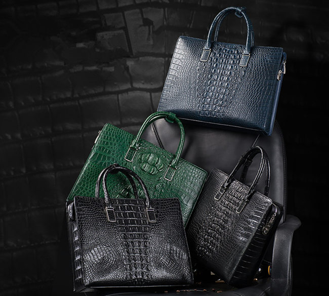Crocodile Briefcase to Be Owned This Summer