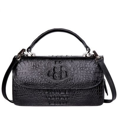 Crocodile Leather Clutch Evening Bag, Small Crocodile Leather Handbag