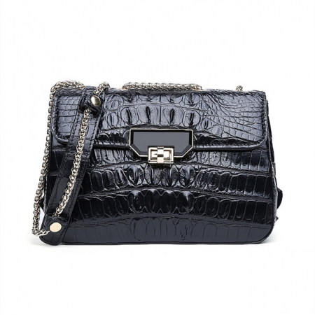 Stylish Alligator Purse, Small Alligator Crossbody Bag