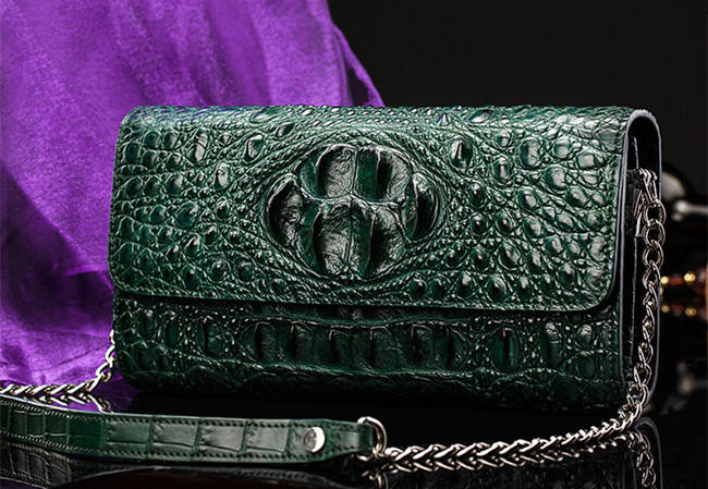 Crocodile Purse to Be Owned This Summer