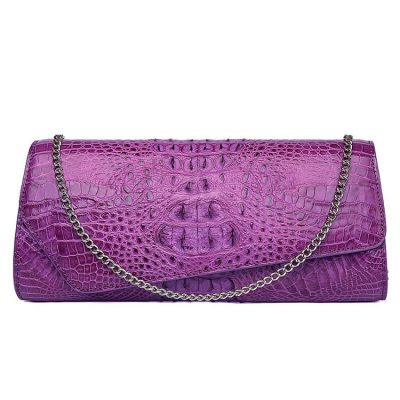 Crocodile Purse, Crocodile Shoulder Clutch