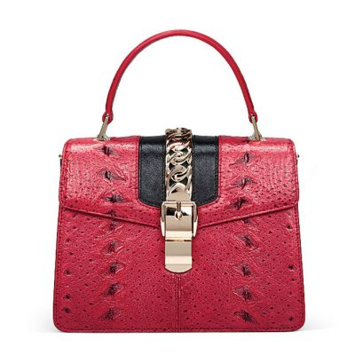 Designer Fashion Sturgeon Leather Top Handle Bag for Women