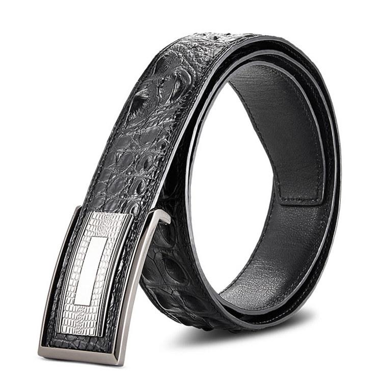 Elegant Stylish Genuine Crocodile Belt