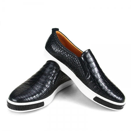 Fashion Genuine Alligator Skin Shoes