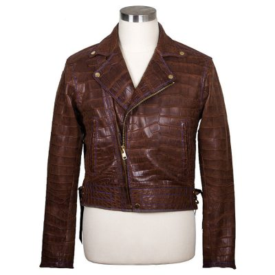 Genuine Alligator Jacket for Women