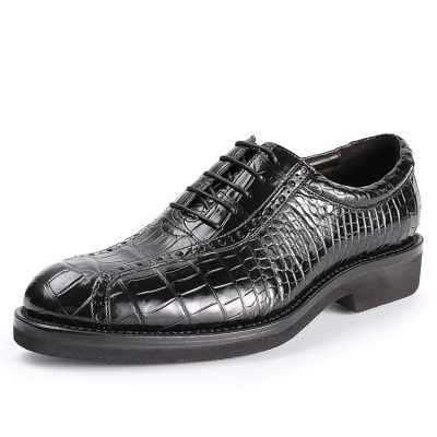 Genuine Alligator Leather Dress Formal Shoes