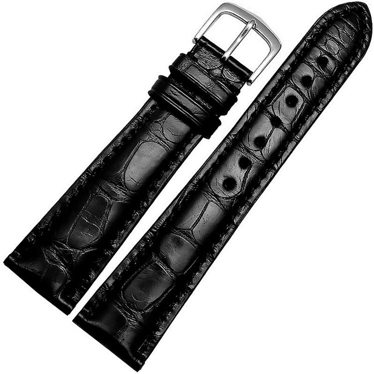 Genuine Alligator Leather Watch Strap