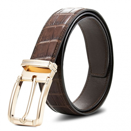 Genuine Alligator Belt - Classic & Fashion Design