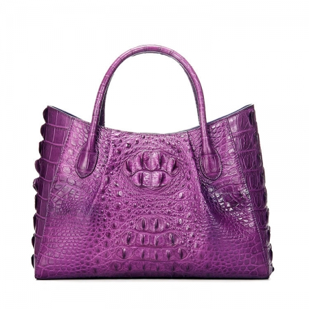 Genuine Crocodile Leather Handbag, Crocodile Leather City Bag
