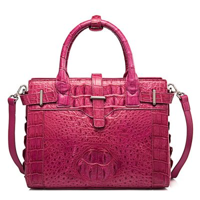 Genuine Crocodile Leather Handbag, Ladies Crocodile Leather Crossbody Bag