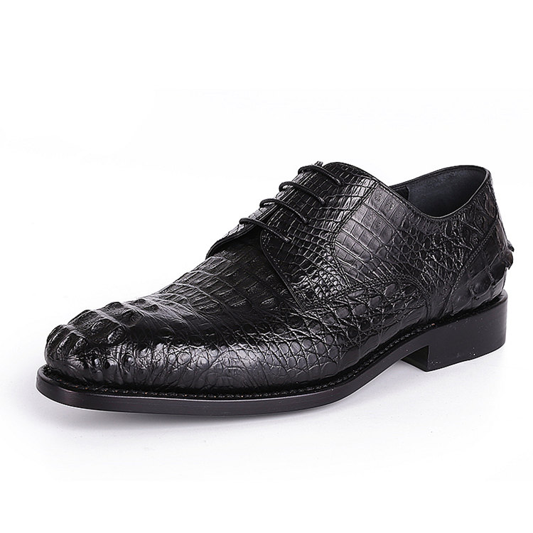 Genuine Crocodile Skin Dress Shoes