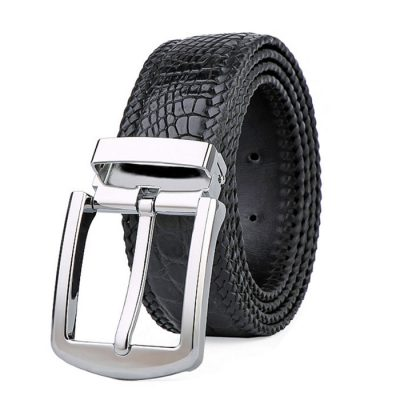 Handmade Genuine Crocodile Belt for Men
