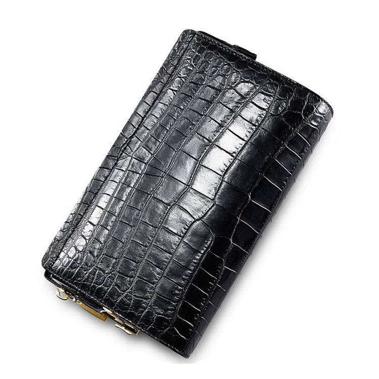 Large Genuine Alligator Wallet