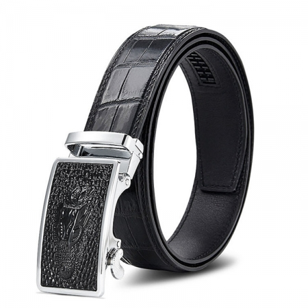 Luxury Automatic Buckle Alligator Belt
