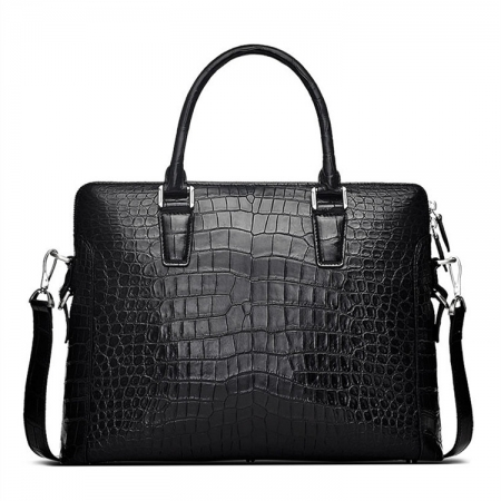 Luxury Alligator Briefcase, Luxury Alligator Laptop Bag for Men