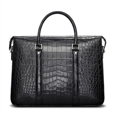 Men's Fashion Alligator Bag, Luxury Alligator Business Briefcase for Men