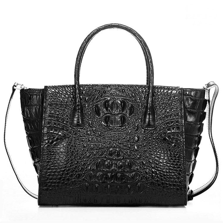 Stylish Crocodile Handbag, Crocodile Tote