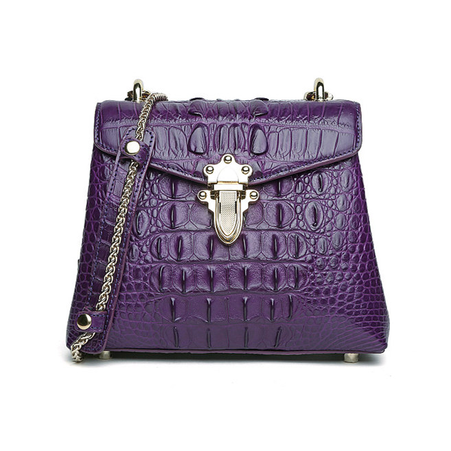 Stylish Alligator Evening Purse