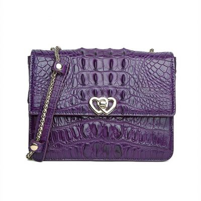Stylish Alligator Purse, Shoulder Bag for Women