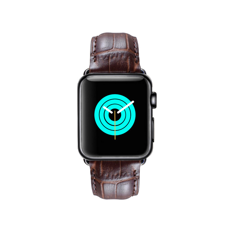 Alligator Apple Watch Band, Alligator iWatch Band