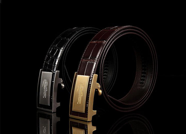 Alligator Leather Belt is the Best Holiday Gift