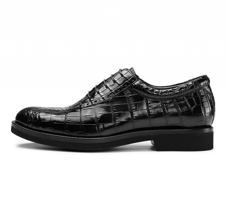 Alligator Leather Dress Shoes-Side