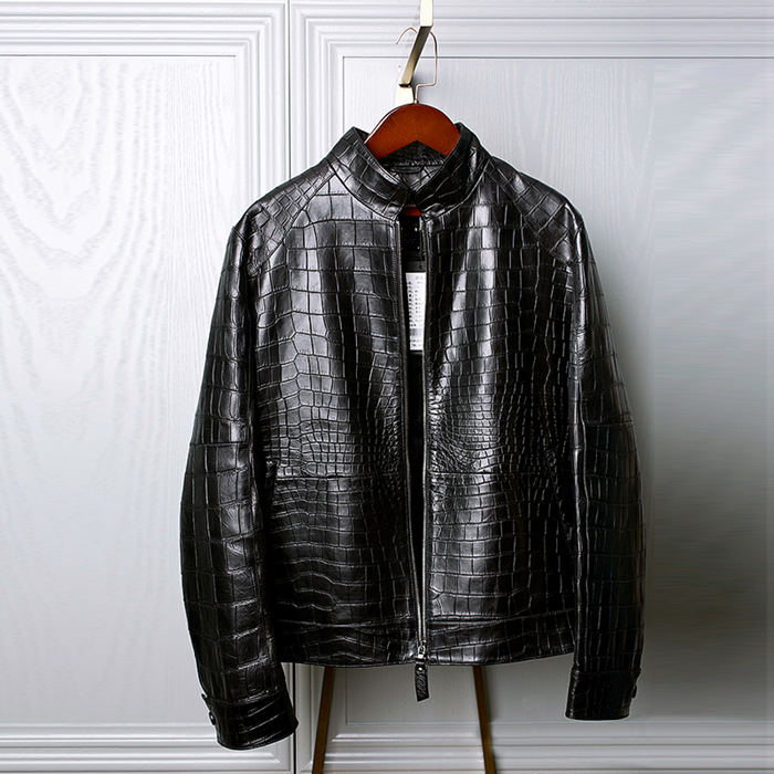 Alligator Leather Jackets are So Expensive