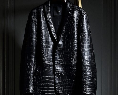 Alligator Leather Jackets for Men