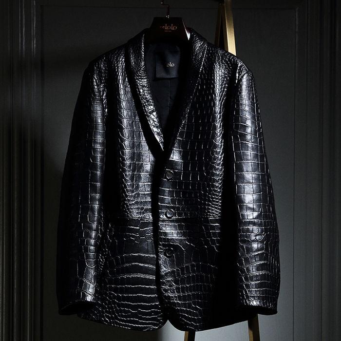 Alligator Leather Jackets for Men