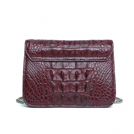 Alligator Leather Purse, Alligator Leather Cross-body Bag-Back