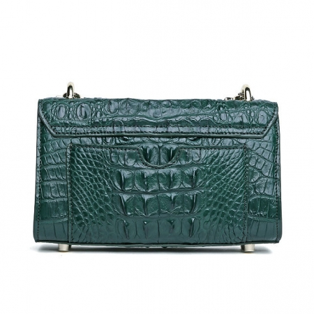 Alligator Purse, Alligator Crossbody Bag, Shoulder Bag-Back