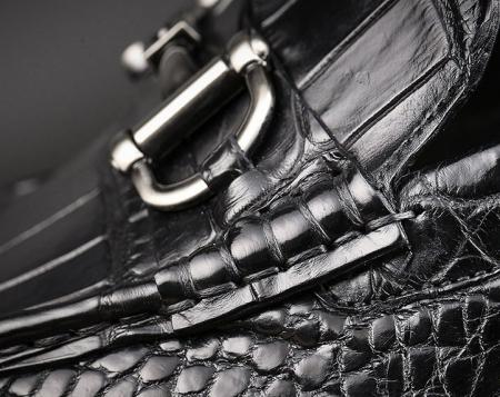 Mens Alligator Slip-On Loafer-Details