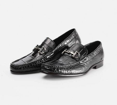 Mens Alligator Slip-On Loafer-Display