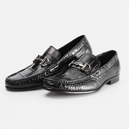 Mens Alligator Slip-On Loafer-Display