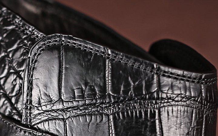 Casual Alligator Boots-Details