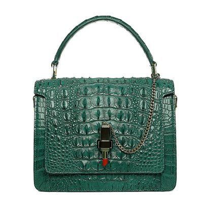 Classic Crocodile Handbag, Crossbody Handbag