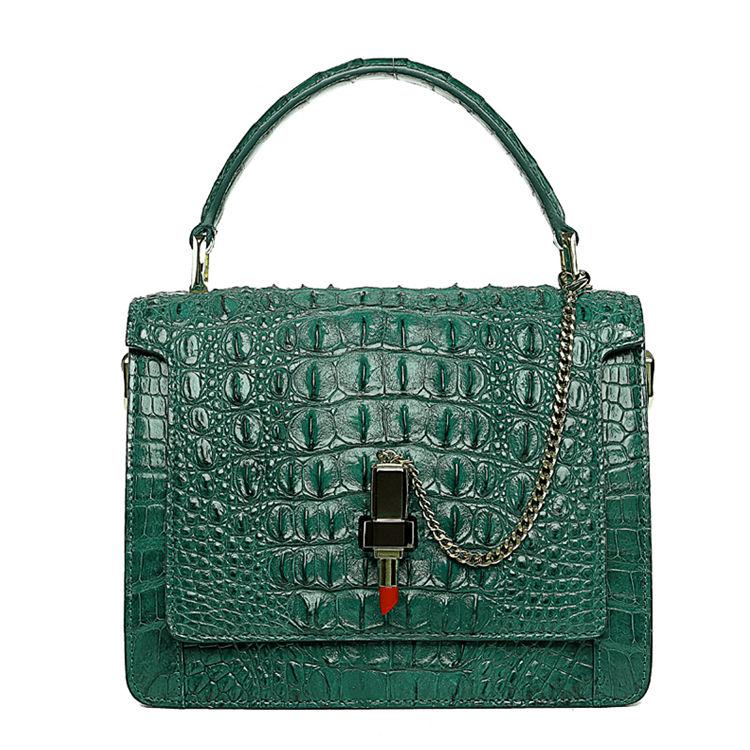 Classic Crocodile Handbag, Crossbody Handbag