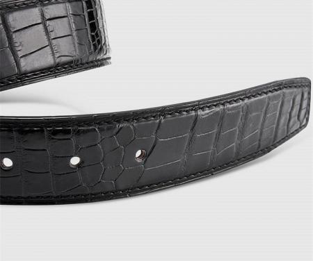 Classic & Fashion Genuine Alligator Belt-2