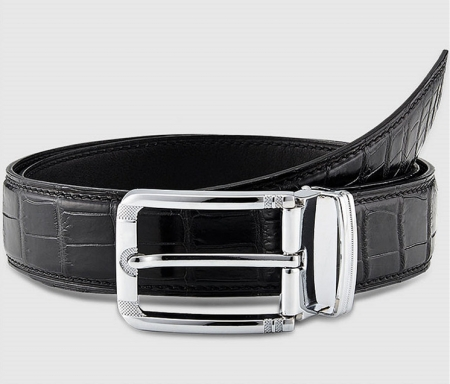 Classic & Fashion Genuine Alligator Belt - Buckle