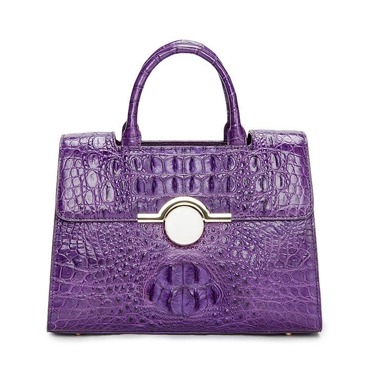 Crocodile Handbag Shoulder Bag Satchel Bag