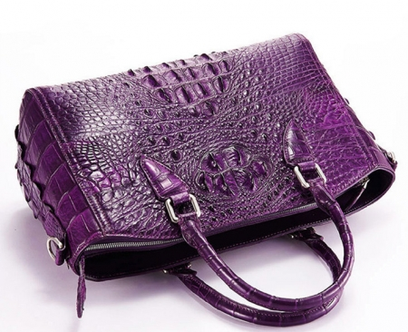 Crocodile Leather Designer Handbag-1