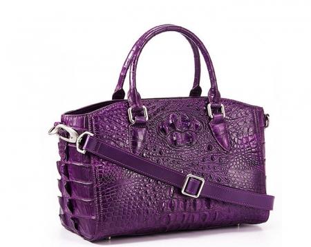 Crocodile Leather Designer Handbag
