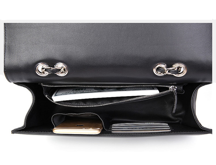 Crocodile Leather Purse, Crocodile Leather Clutch-Inside