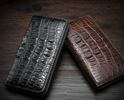 Crocodile Leather Wallet for Him